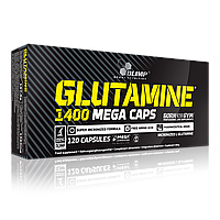 Olimp Glutamine 1400 mega caps 120 caps, фото 1