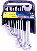 Сталь 48037 Набор ключей комбинированных CRV 12 шт