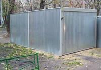 Строительство гаража — металлический, капитальный гараж