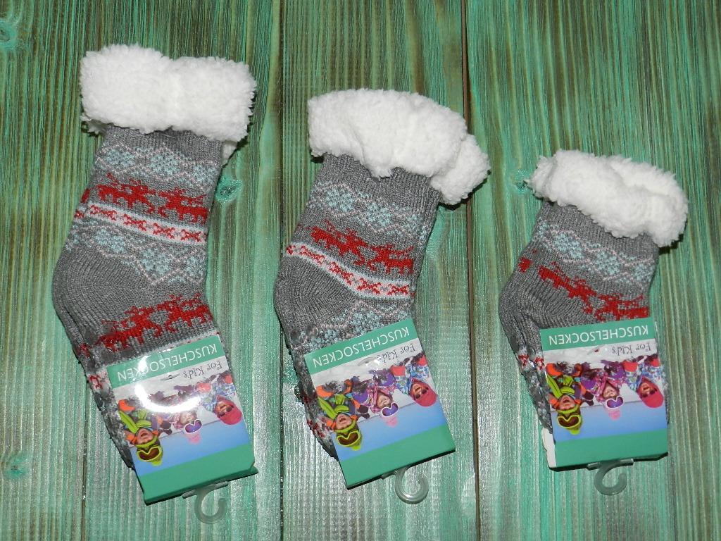 Носки со стопперами для малышей ( 0-12 м )
