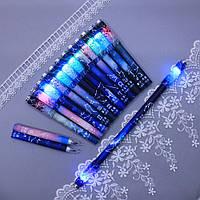 Ручка для пенспиннинга Пенспиннинг Пенспиннер skilltoy Pen spinning светящаяся