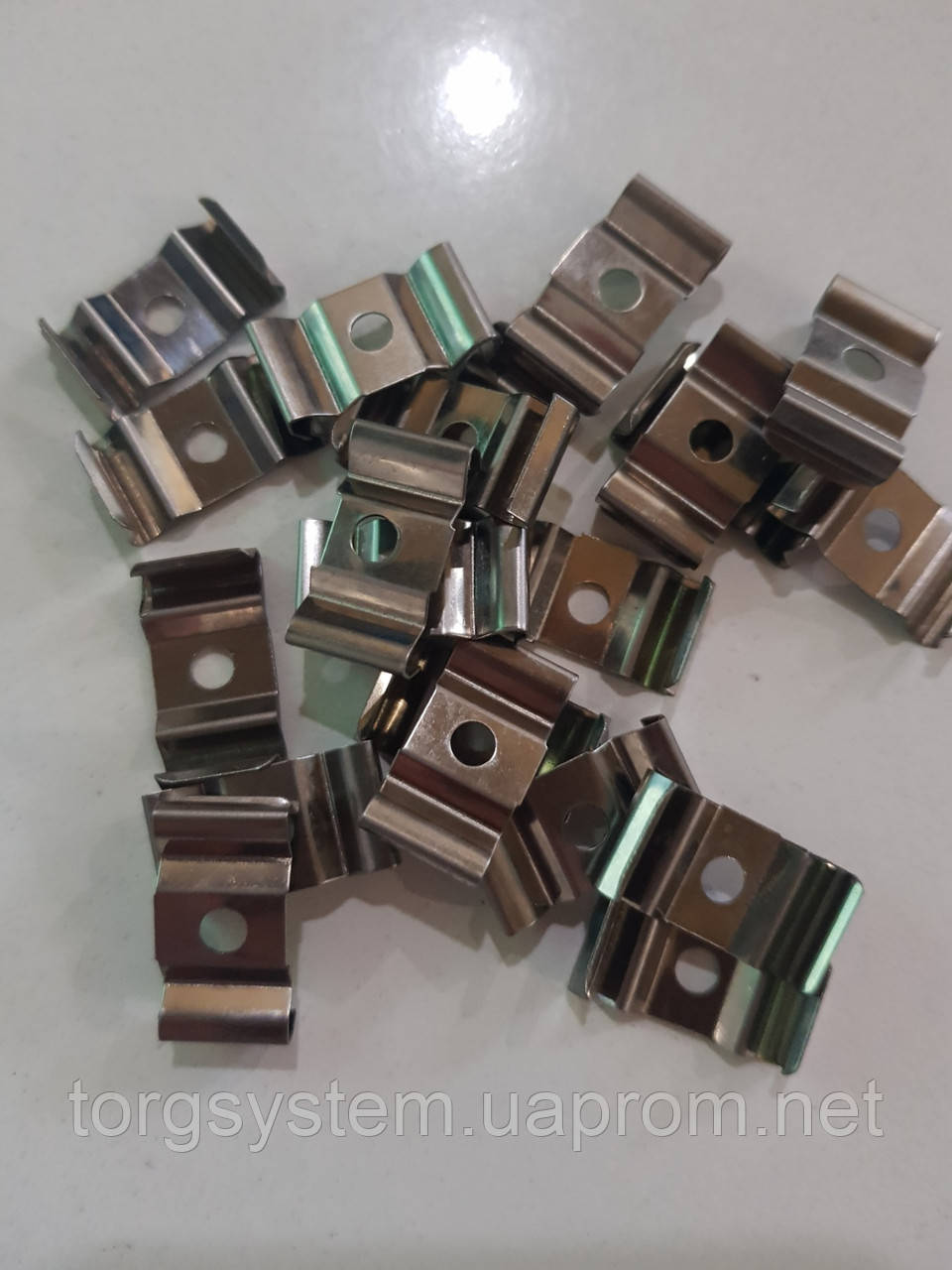 Крепление металлическое для Led профиля, клипсы