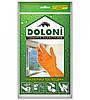 Перчатки латексные хозяйственные Doloni Household S оранжевые 4544