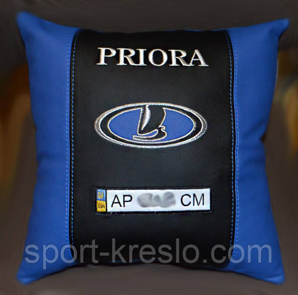 Подушка автомобильная  с логотипом Lada лада