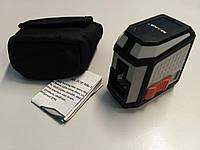 Лазерный уровень нивелир, красный луч 2 линии MAKA MK113P, подарок папе, фото 1