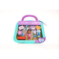 Кукла Дисней (Disney) Набор Мини - Доктор Плюшева и Стаффи в кейсе