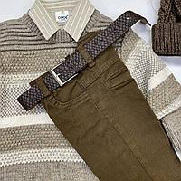 Красивый бежевый свитер  для  мальчика, фото 1