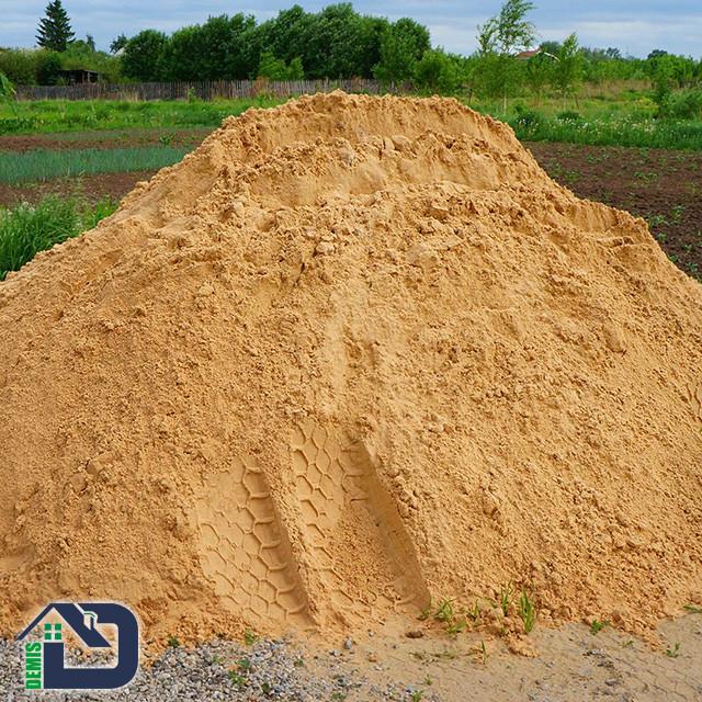 Пісок будівельний