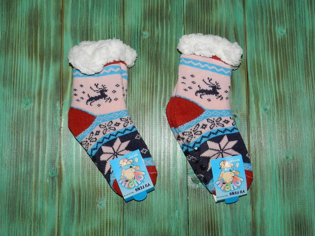 Носки со стопперами для малышей ( 27-31р. )