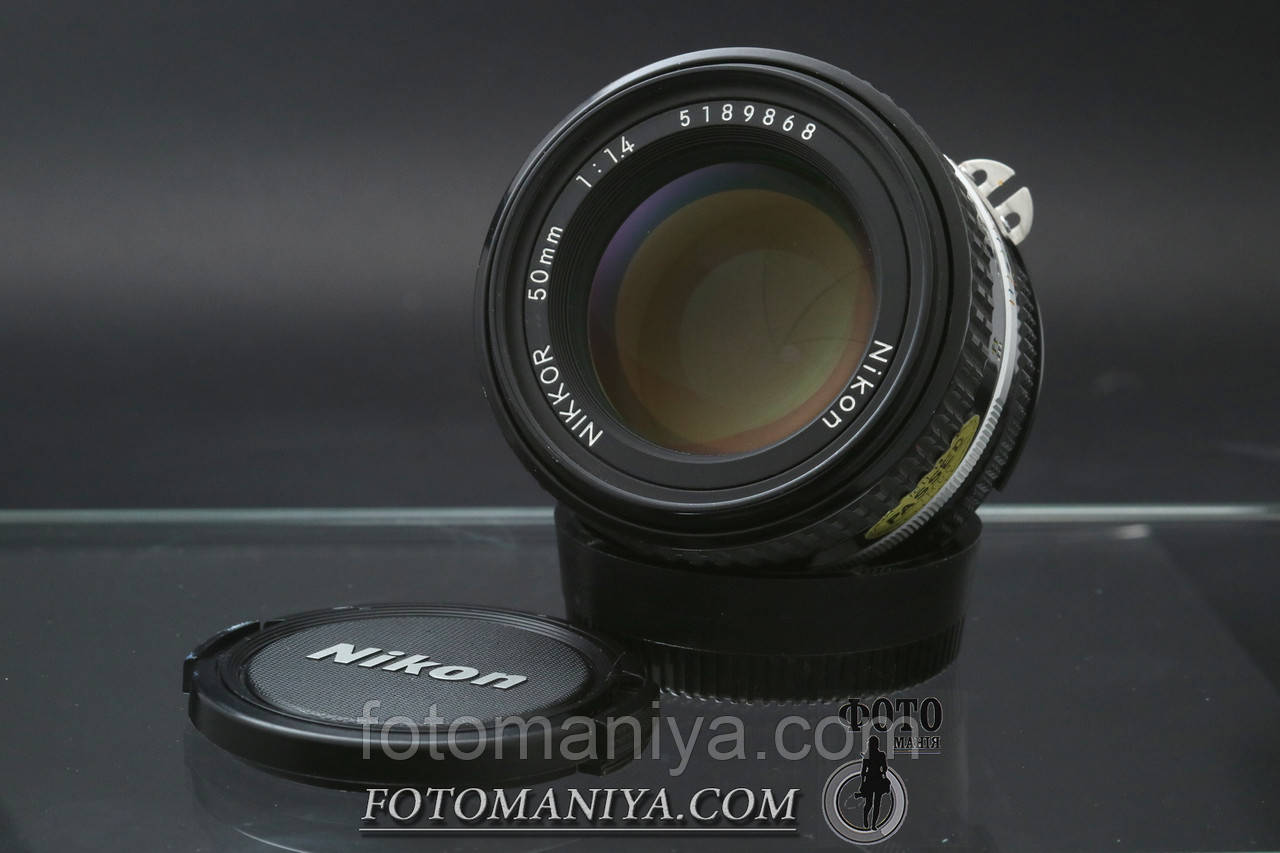 Nikkor 50mm f1.4 Ai-S