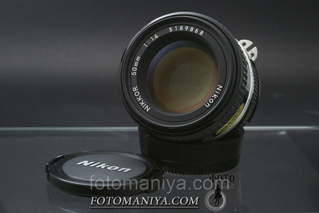 Nikkor-S 50mm f1.4 Non-Ai