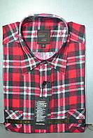 Мужская байковая (фланелевая) рубашка (43, 44. 46 размеры)