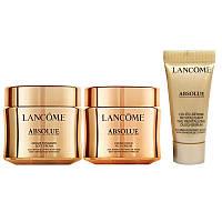 Набор Lancome Absolue (Serum 5ml + Rich Cream 15ml + Soft Cream 15ml) (3614273031318)