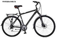 Велосипед SPELLI GALAXY Vbrake Зеленый черный 2013