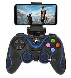 Беспроводной Bluetooth джойстик Gen Game V8 Black/Blue(7211)