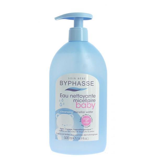 Byphasse Gentle Cleansing Baby Micelar Water Мицеллярная вода для детей вода 500 мл