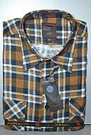Мужская байковая (фланелевая) рубашка (с 43 по 46 размеры)
