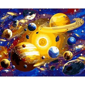 Картина по номерам Солнечная система VP1312, Babylon, 40x50 см.
