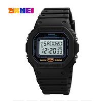 Часы наручные электронные Skmei 1628 Black White