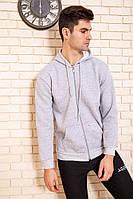 Спорт кофта мужская 116R038 цвет Серый