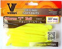 Силиконовая съедобная приманка Червь (Worm Tail), TBR-005, цвет 006, фото 1