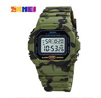 Часы наручные электронные Skmei 1628 Green camo