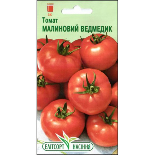 "Семена томата Малиновый мишка 0,1 г , ""Елiтсортнасiння"", Украина"