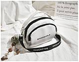 Маленькая белая вместительная сумка новая, фото 5