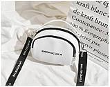 Маленькая белая вместительная сумка новая, фото 3