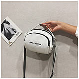 Маленькая белая вместительная сумка новая, фото 2