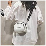 Маленькая белая вместительная сумка новая, фото 6