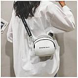 Маленькая белая вместительная сумка новая, фото 7