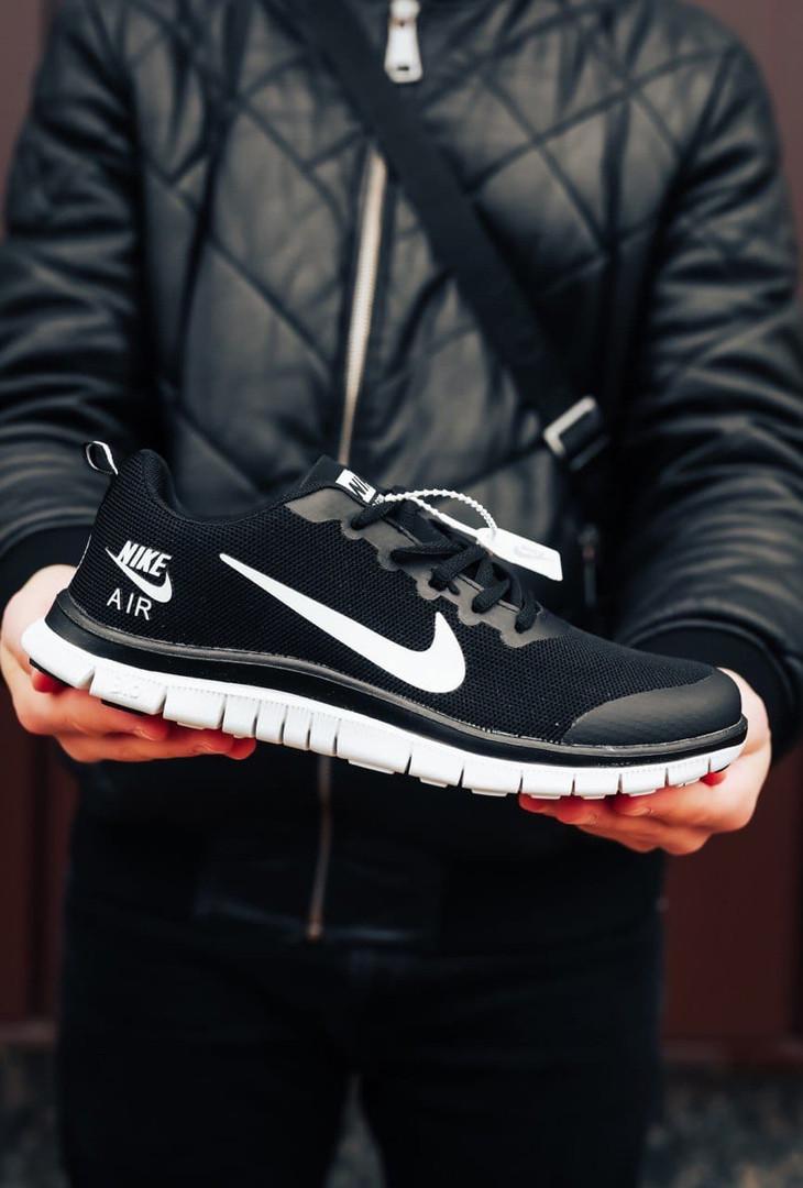 """Кроссовки Nike Air Zoom Pegasus """"Черные/Белые"""""""