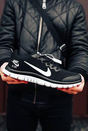 """Кроссовки Nike Air Zoom Pegasus """"Черные/Белые"""", фото 2"""