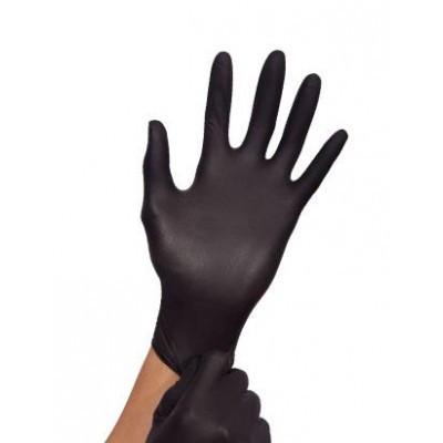 Медицинские нитриловые перчатки 1 шт.