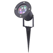 Лазерный проектор цветные снежинки Star Shower COLOR Snowflake № WP2 + ПОДАРОК: Настенный Фонарик с, фото 2