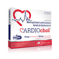 Здоровье сердца CARDIO Chol (30 caps)