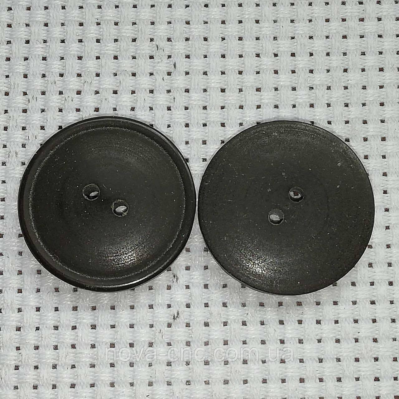 Пуговицы  пластмассовые 22 мм Цвет коричнево-черный Упаковка 440 штук
