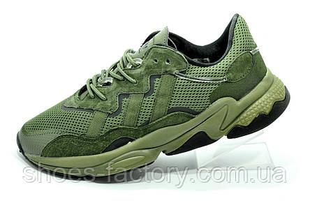 Кроссовки мужские Adidas Ozweego Green зеленые, фото 2