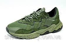 Кроссовки мужские Adidas Ozweego Green зеленые, фото 3