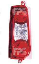 Фонарь задний левый 2 двери красный (тип 2008-12) для Peugeot Partner 2012-15