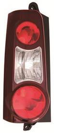 Фонарь задний левый 2 двери темно-красный для Peugeot Partner 2012-15