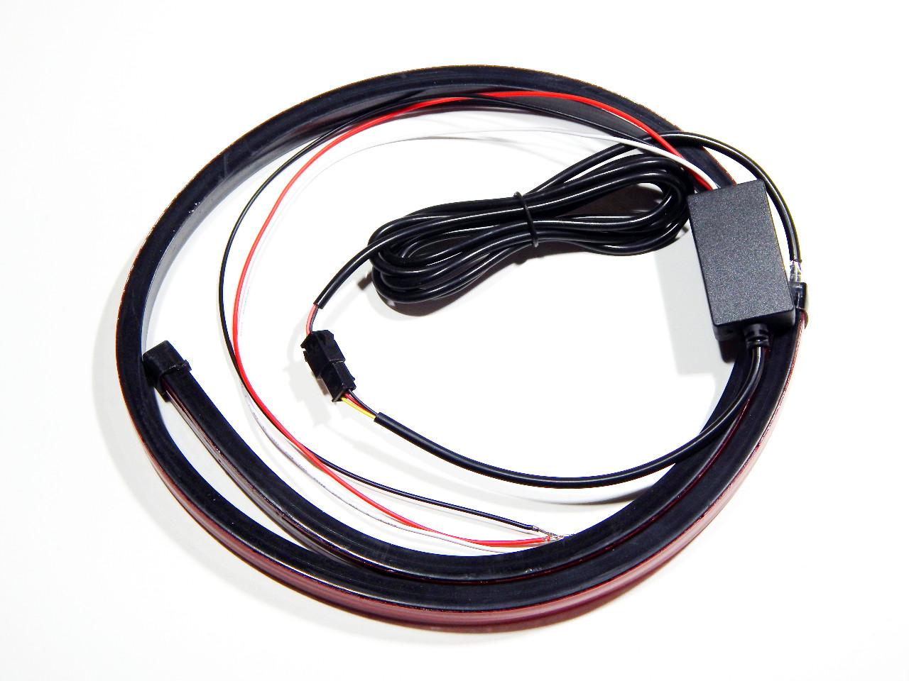 Стоп-сигнал ZIRY C39037-M dynamic 90cm red з динамічним ефектом, гнучкий
