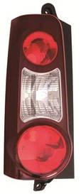 Фонарь задний правый 2 двери темно-красный для Peugeot Partner 2015-18