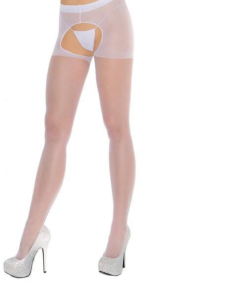 Жіночі колготки білі розмір М