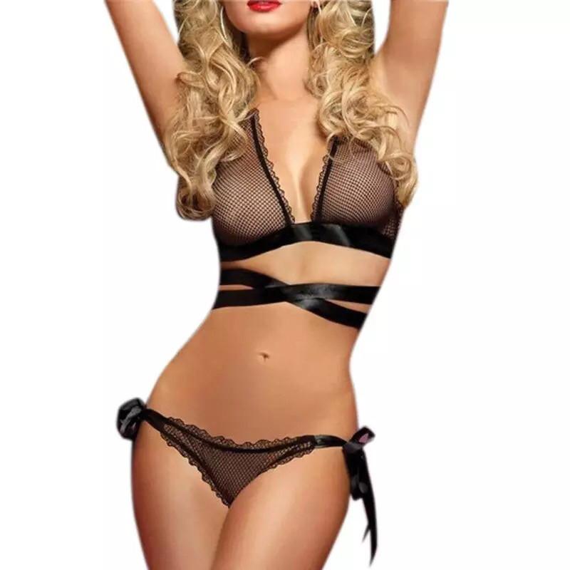 Нижнее белье женское черное размер М