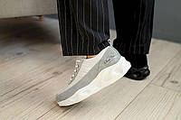 Женские кроссовки кожаные весна/осень серые BENZ DJ25, фото 1