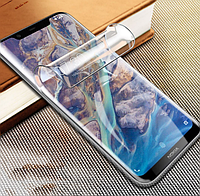 Гидрогелевая пленка для Nokia 6.1 plus (противоударная бронированная пленка) Gold