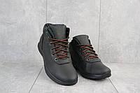 Мужские кроссовки кожаные зимние черные Yavgor 635, фото 1