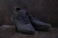 Мужские кроссовки кожаные зимние синие CrosSAV 38, фото 1